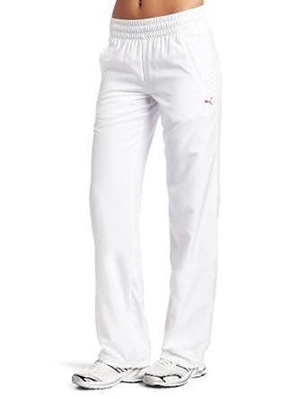 简洁)彪马女士编织裤 仅$31.99 白色