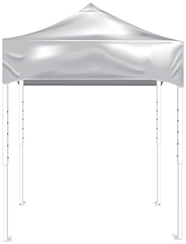 Kd Kanopy Ps64W Party Shade Steel Frame Indoor/Outdoor Portable Canopy, 8 By 8-Feet, White