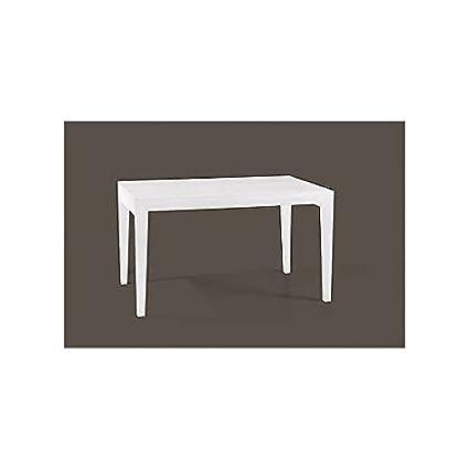 TAVOLO LEGNO VARIE DIMENSIONI COLORE BIANCO VARI COLORI legno massello - Come foto bianco e avorio