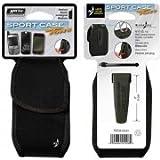Nite-Ize Clip Case Cargo Phone Holster, Wide, Black