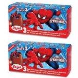 2 Boxes (6 Eggs) Disney Pixar Spider-man Chocolate, Free Gift