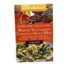 Sukhi's Madras Vegetable Spice Mix, 0.5-Ounce Packets  (Pack of 12) (Naan Mix compare prices)