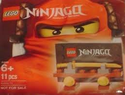 LEGO Ninjago 4636204 Weapon Display (gold sword)