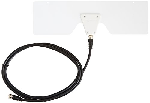 Big Save! AmazonBasics Ultra Thin Indoor TV Antenna - 25 Mile Range