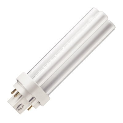 Philips Kompaktleuchtstofflampe PL-C 18W/840/4p