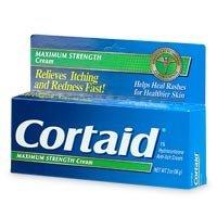 Cortaid Maximum Strength 1% Hydrocortisone Anti Itch Cream - 1 Oz