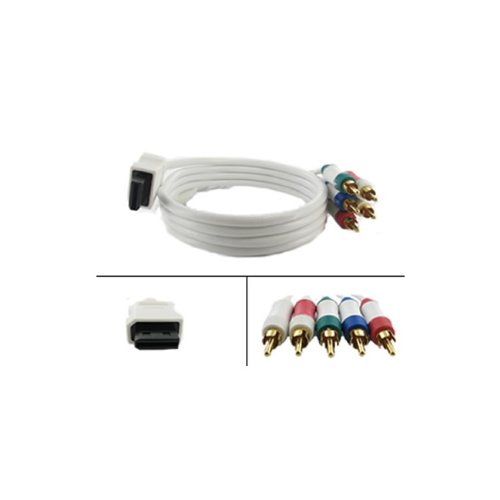6FT HD Component Cable for Nintendo Wii