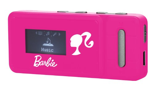 Lexibook DMP84BB Barbie MP3-Player mit ID3-Tag (LCD-Display, 4GB Speicher, USB 2.0)
