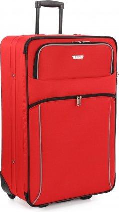 Travelite Viva II 2-Rollen-Trolley 71 cm, rot/grau