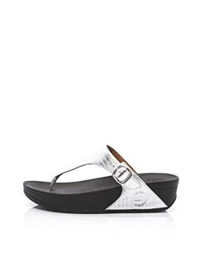 FitFlop Infradito The Skinny Tm [Argento]