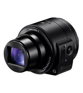SONY レンズスタイルカメラ サイバーショット DSC-QX30(ブラック)