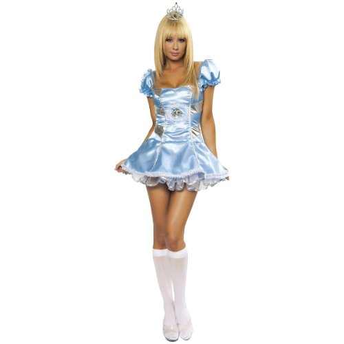 Deluxe Midnight Cindy Costume - Medium - Dress Size 6