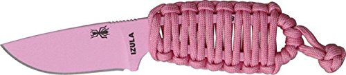 Esee Izula - Pink Fixed Blade Knife, 2.5In, Drop Point, Skeletonized Handle Izula-Pink
