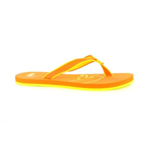 Mens Puma Ona Flip Flop Orange Sandals-Orange-9