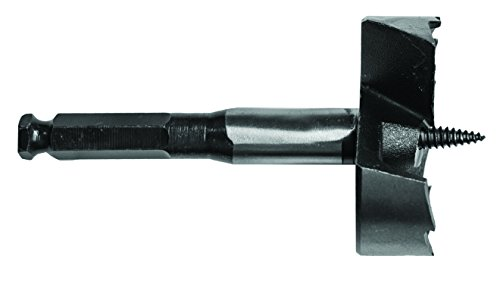 Century Drill and Tool 38339 2-9/16-Inch Self Feed Wood Drill Bit