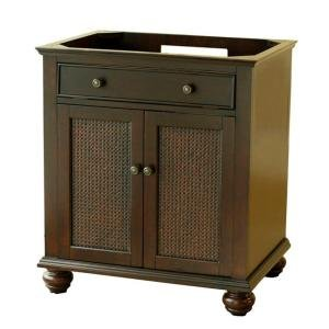 less vanity top espresso furniture cabinets storage vanities bedroom