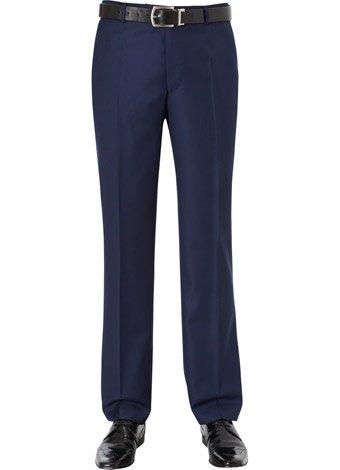 Austin Reed Slim Fit True Blue Trousers REGULAR MENS 30