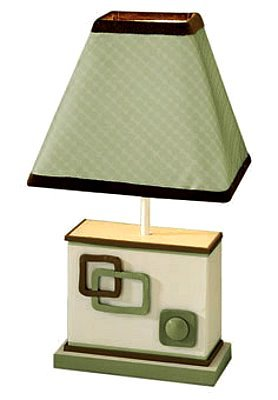 Baby Picasso Sage - Lamp with Shade