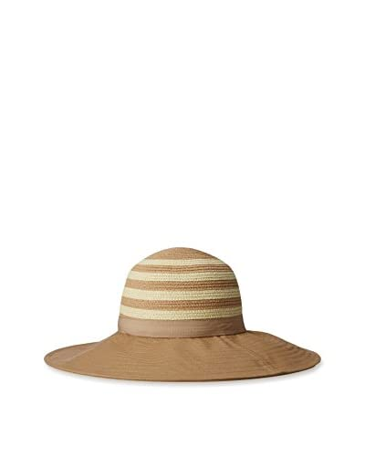 Magid Women's Floppy with Paper Crown and Cotton Brim, Toast/Natural