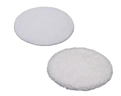 Einhell-Polierhauben-passend-fr-Auto-Poliermaschine-BT-PO-110-1-Textil-und-1-Synthetik-Polierhaube