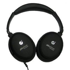 Able Planet Nc210Cg True Fidelity Foldable Noise Canceling Headphones, Linx Audio Technology, Black