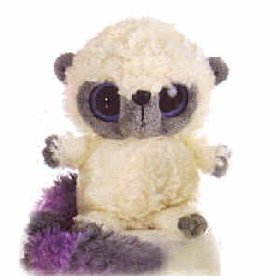 "Yoohoo Purple Lemur with Sound 5"" by Aurora"