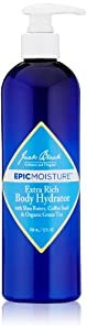 Jack Black Epic Moisture Extra Rich Body Hydrator, 12 Ounce