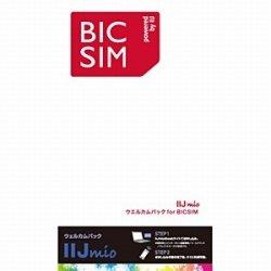 IIJ BIC SIMウェルカムパック マイクロSIM 【ビックカメラオリジナル】