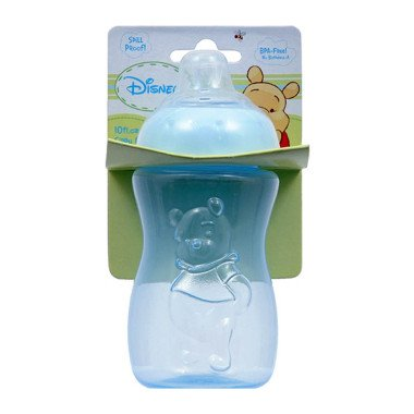 Disney Soft Spout Pooh 10oz Sippy Cup Bottle (Blue)