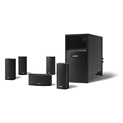 Bose Acoustimass 10 Series V Home Theater Speaker System (Black) from Bose Corporation