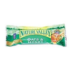 Nature Valley Granola Bars, Oats'n Honey Cereal, 1.5oz Bar, 18 Bars/Bo