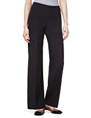 M&S Collection Side Zip Wide Leg Trousers