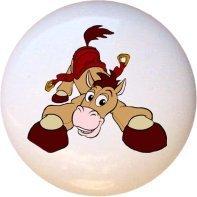 Bullseye Horse Toy Story Drawer Pull Knob