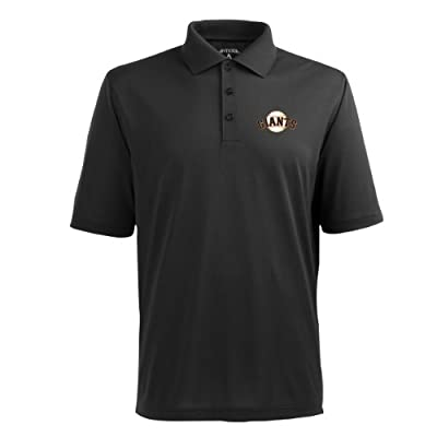 MLB Men's San Francisco Giants Pique Xtra Lite Desert Dry Polo