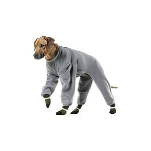 Muttluks 4-Legged Fleece Dog Jogger, Size 16, Grey