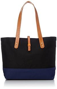 [カンサイビス] KANSAIBIS(カンサイビス) 倉敷産帆布レザートートバッグ 17954 001 (ブラック)