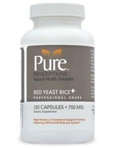 Amazon.com: Red Yeast Rice+ 120 Capsules: Health