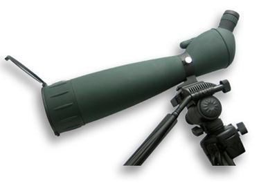 NcSTAR 30 - 90x90 mm Spotting Scope with Tripod Green
