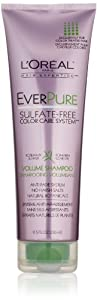L'Oreal Paris EverPure Sulfate-Free Color Care System Volume Shampoo, 8.5 Fluid Ounce