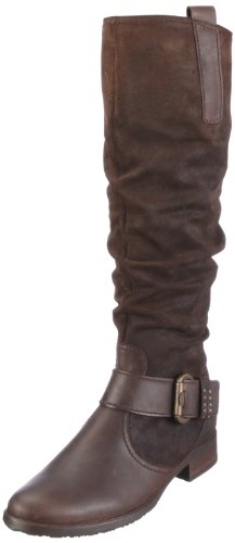 Gabor Women's Bridie Leather Nubuck Moro Knee High Boots 32.765.45 6 UK
