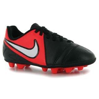 Nike CTR360 Enganche FG Childrens Football Boots Black/White 13.5 Child UK UK