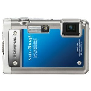 Olympus Stylus Tough 8010 14MP Digital Camera with 5x Wide Angle Zoom and 2.7 inch LCD (Blue)