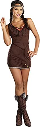 Morris Costumes Women's NATIVE BEAUTY ADULT Costum