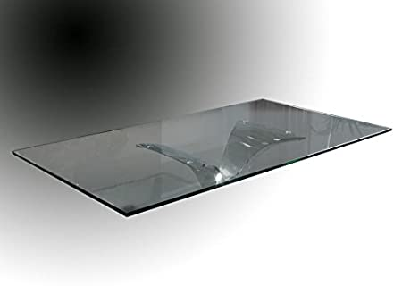 GLASS OF 200X100 CM. CALIMA DINING TABLE