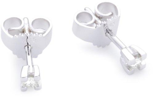 Imagen principal de Bella Donna Ohrstecker 634954 - Pendientes de mujer de oro blanco (14k) con 2 diamantes
