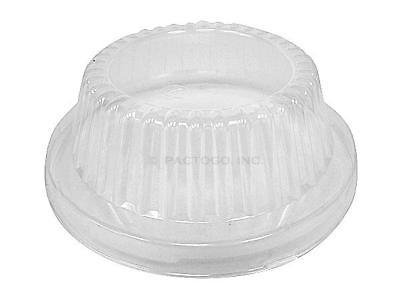 Durable Packaging Clear Plastic Dome Lid for 5-3/4