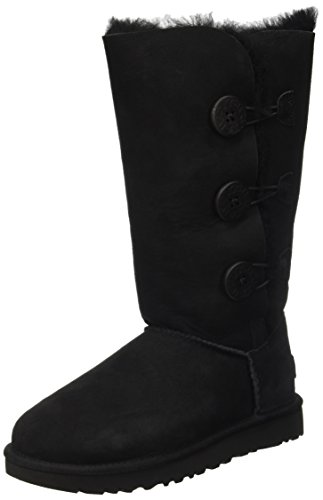 ugg-womens-bailey-button-triplet-ii-winter-boot-black-7-b-us