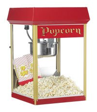 Gold Medal Red Fun Pop 8 oz. Popcorn Popper конденсатор jantzen mkp silver z cap 800 vdc 2% 1 8 uf