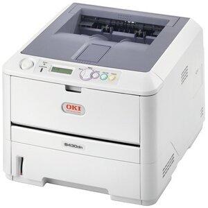 Oki B430Dn Led Printer - Monochrome - Plain Paper Print - Desktop 30 Ppm Mono - 1200 X 1200 Dpi - 64 Mb - 300 Sheets (Input Capacity) - Usb, Network, Parallel - Fast Ethernet - Pc, Mac