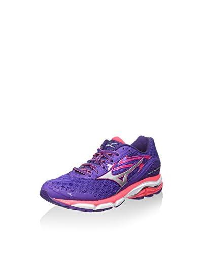 Mizuno Zapatillas de Running Wave Inspire 12 Wos Morado / Rosa EU 40 (US 9)